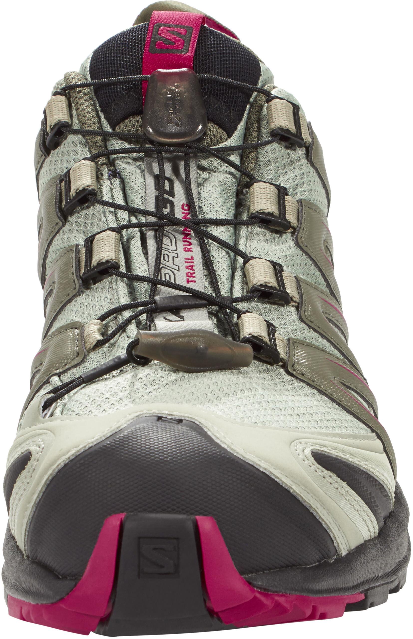 9c4d94386bb Salomon XA Pro 3D GTX - Chaussures running Femme - gris sur CAMPZ !